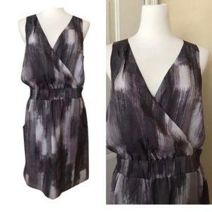 Banana Republic Silk Faux Wrap Dress